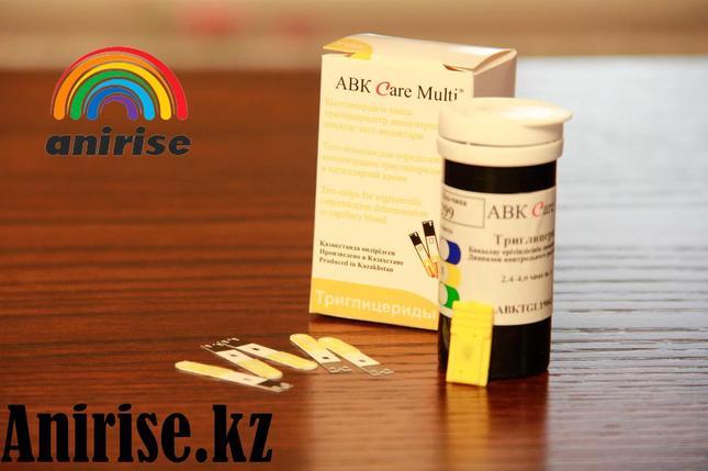 Тест полоски триглицеридов АВК Care Multi №25, фото 2