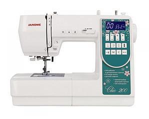 Швейная машина компьютерная JANOME Clio 200