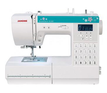 Швейная машина компьютерная JANOME HomeDecor 6180