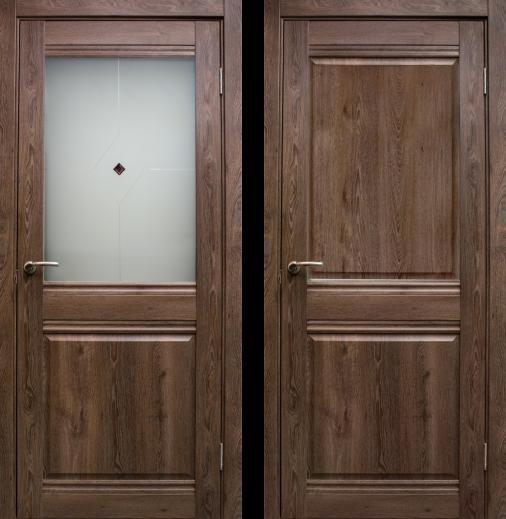 Дверь Омега без стекла