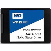 Твердотельный накопитель 500GB SSD WD WDS500G2B0A Серия BLUE 3D NAND 2.5 SATA3 R560Mb/s, W530MB/s
