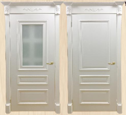 Дверь Багет 8 без стекла