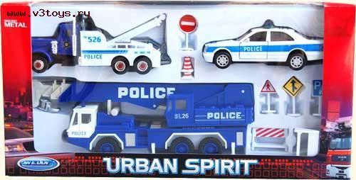 1/34 Welly Полиция