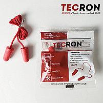 Беруши противошумные со шнурком TECRON™ Classic form corded 37dB, фото 2