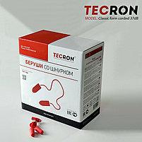 Беруши противошумные со шнурком TECRON™ Classic form corded 37dB, фото 3