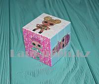 Кубик Рубика 3х3 с принтом кукол LOL