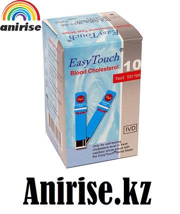 Тест-полоски EasyTouch® для определения холестерина в крови, в упаковке 25, фото 2