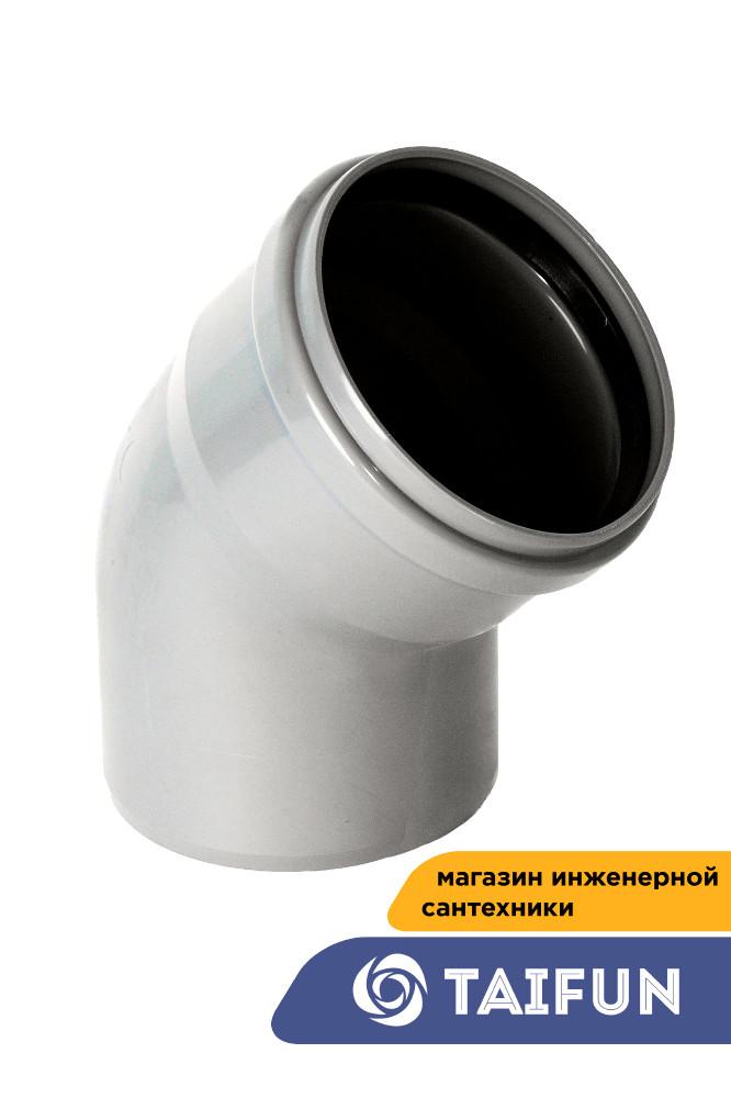 HAIRUN Канализационная  полуотвод - 100  [ 40 ]