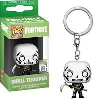"Funko Pocket POP! Fortnite Брелок Фигурка ""Скелет"" (Skull Trooper), Фортнайт"