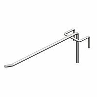 Крючок торговый одинарный (5х400 мм) цинк арт. is54 1/5-400, фото 1