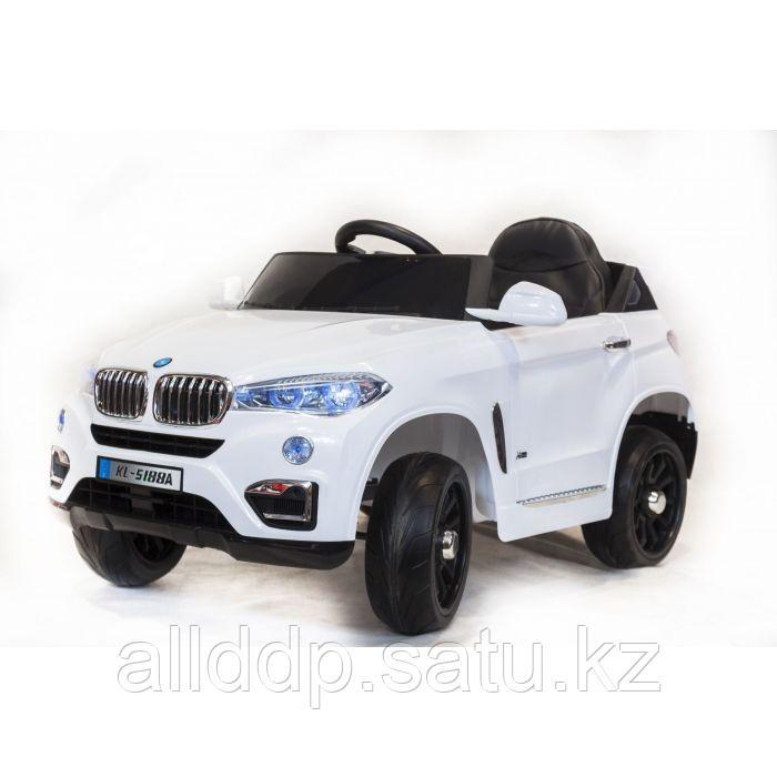Электромобиль BMW X6 White
