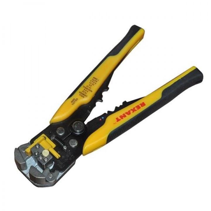 Инструмент для зачистки кабеля 0.2-6.0 и обжима након. HT-766 (TL-766) REXANT
