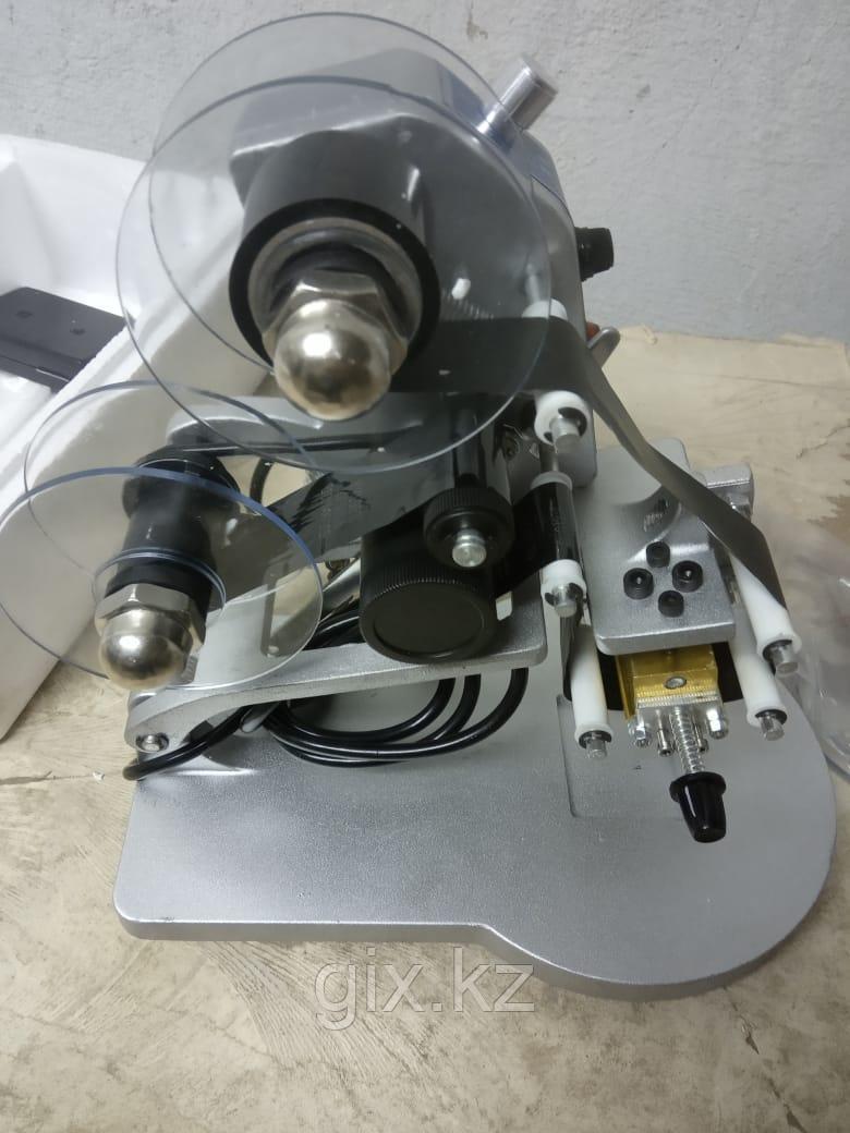Датер ручной DUOQI DY-8 (двойной, с термолентой)
