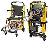 Подъемник лестничный, гусеничный для инвалидов, электрический, складной, мобильный 24v  200w.model DW-ST003A., фото 3