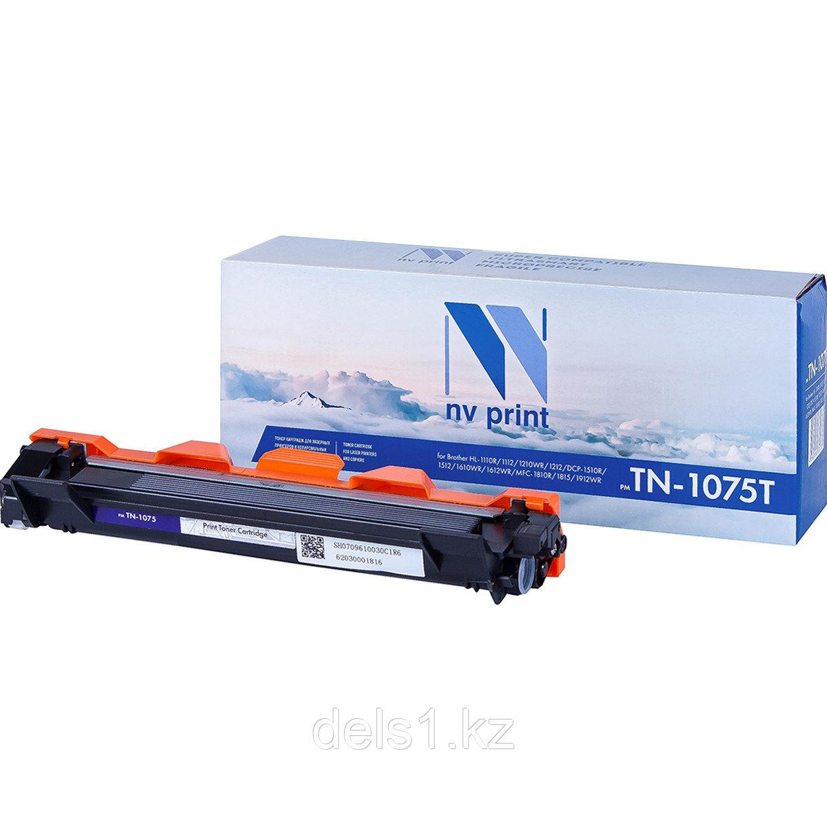 Картридж NVP NV-TN1075Т совместимый с Brother