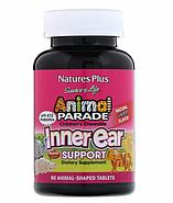 Nature's Plus, Source of Life, Animal Parade, детские жевательные таблетки для поддержания здоровья внутреннег, фото 2
