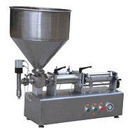 Настольный поршневой дозатор для пастообразных продуктов HUALIAN PPF-2000T