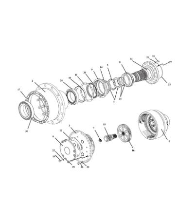 Ступица колеса У2210.20.Н-2-03.300