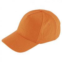 Каскетка Сибртех 89186, размер 52-62, цвет оранжевый (комплект из 2 шт.)
