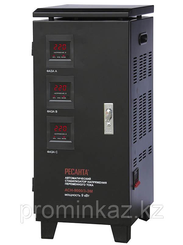 Стабилизатор напряжения РЕСАНТА АСН-6000/3-ЭМ -6кВТ
