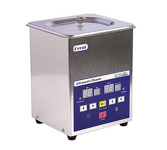 N00847 Ultrasonic DR-LQ20 - Ультразвуковая ванна с  подогревом 2.0 л