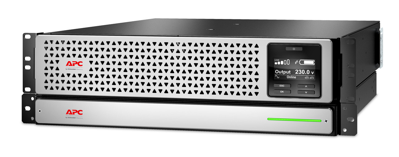 APCSRTL1500RMXLI ИБП Smart, On-Line, Li-Ion, Rack, IEC, 1 500 VА, 1 350 W