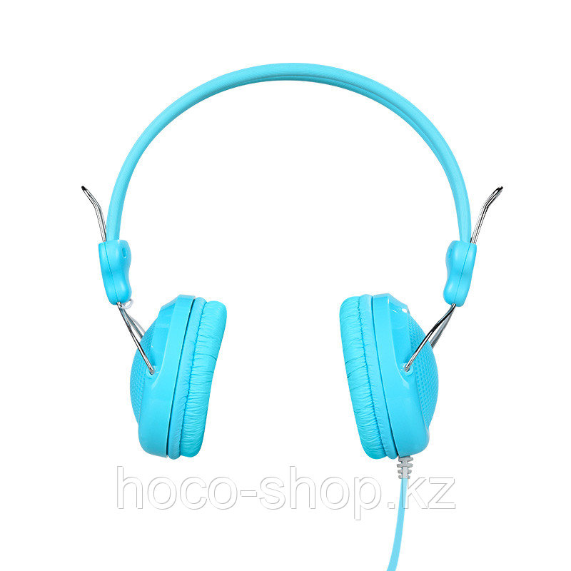 Проводные большие наушники Hoco W5 Manno, Blue