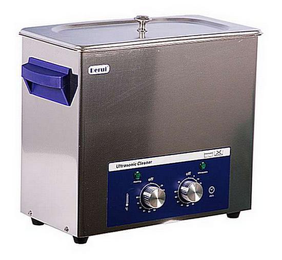 N03523 Ultrasonic DR-MH60 - Ультразвуковая ванна с  подогревом 6.0 л