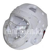 Шлем с маской для тхэквондо GF-00145, белый