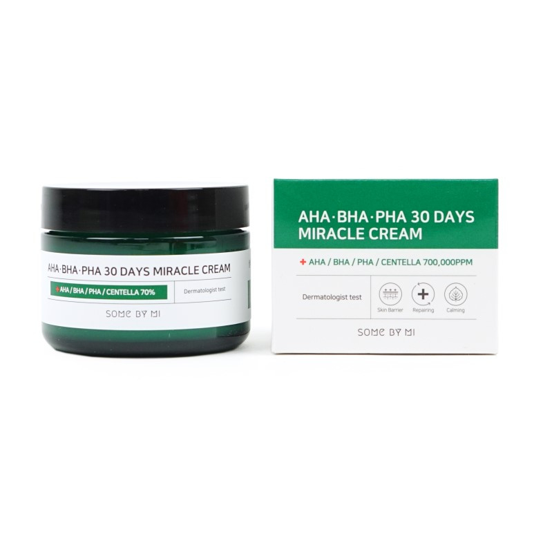 Крем для лица Some By Mi  AHA/BHA/PHA 30 Days Miracle Cream 50 ml.