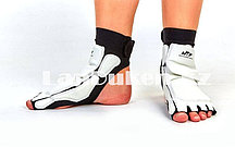 Защита стопы носки-футы для тхэквондо WTF 00143, белые