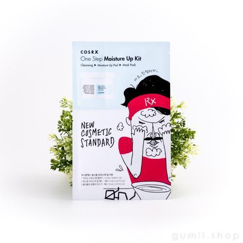Трехфазовый набор One Step Moisture Up Kit (Cosrx) Мини комплекс для очищения и увлажнения кожи лица
