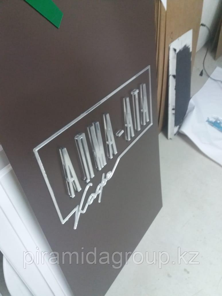 Изготовление объемных букв на здание