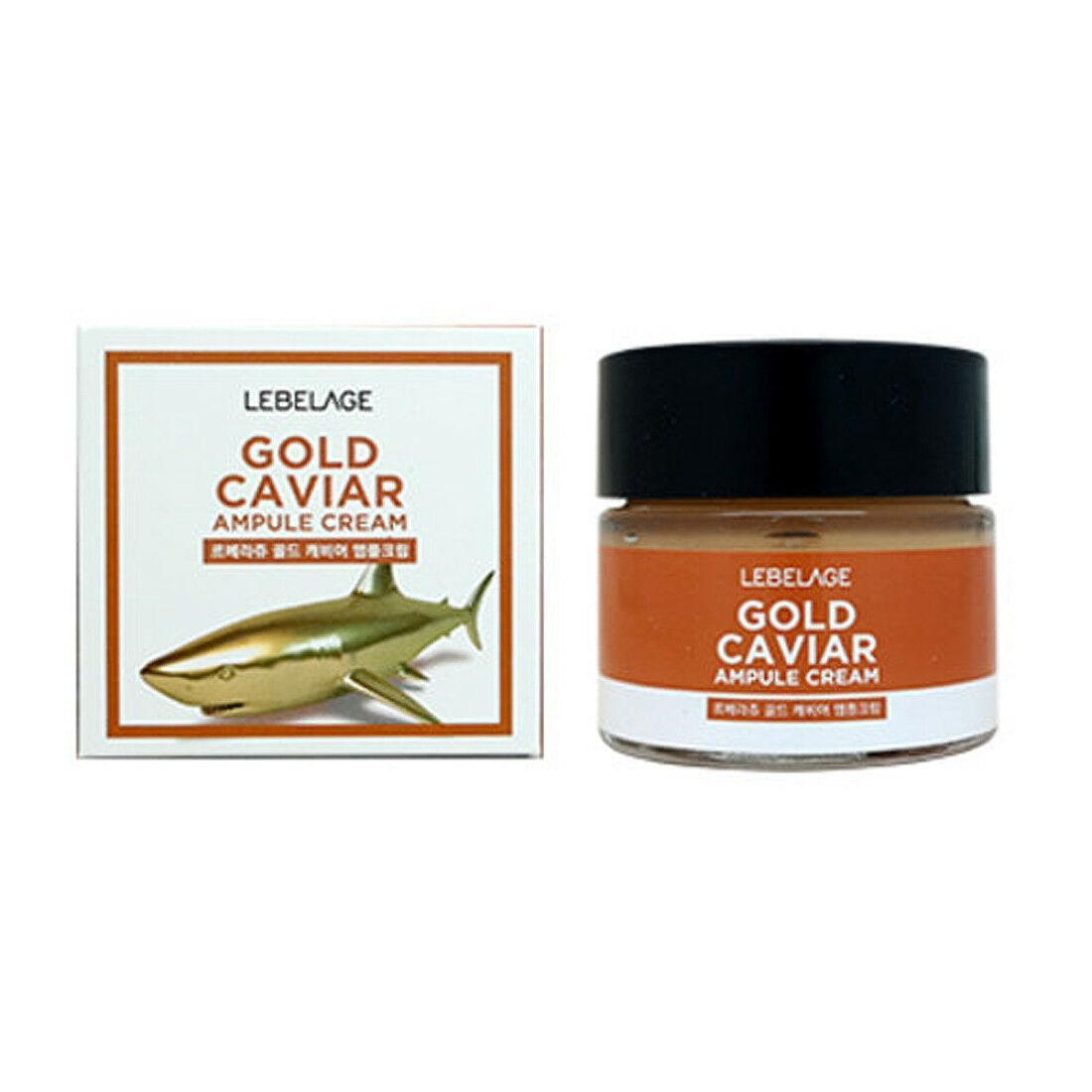 Крем для лица Lebelage Gold Caviar Ampule Cream 70 ml.