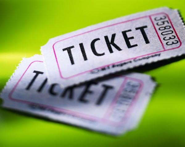 Печать билетов для концертов