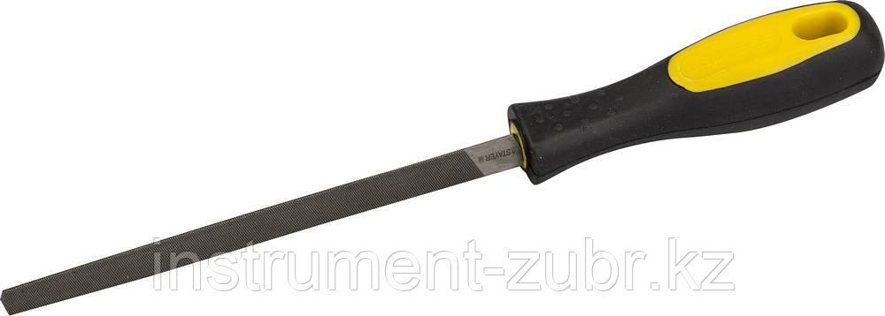 """Напильник STAYER """"PROFI"""" трехгранный, с двухкомпонентной рукояткой, № 1, 150мм"""