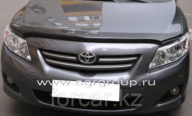 Дефлектор капота темный EGR для Toyota Corolla 2006-, фото 2
