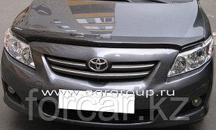 Дефлектор капота темный EGR для Toyota Corolla 2006-