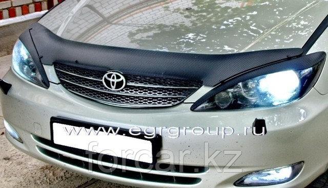 Дефлектор капота темный EGR для Toyota Camry 2002-2004, фото 2