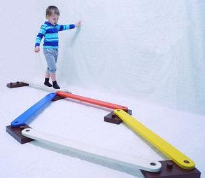 Балансировочная дорожка детская, фото 2