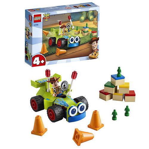 LEGO Juniors 10766 Конструктор ЛЕГО Джуниорс История игрушек-4: Вуди на машине