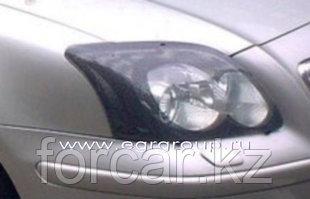 Защита передних фар EGR для Toyota Camry 40  2006-2009 (темная)