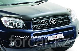 Дефлектор капота EGR темный с надписью Toyota RAV 4 2006-