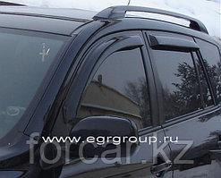 Дефлекторы боковых окон EGR  4 части темные Toyota RAV 4 2006-