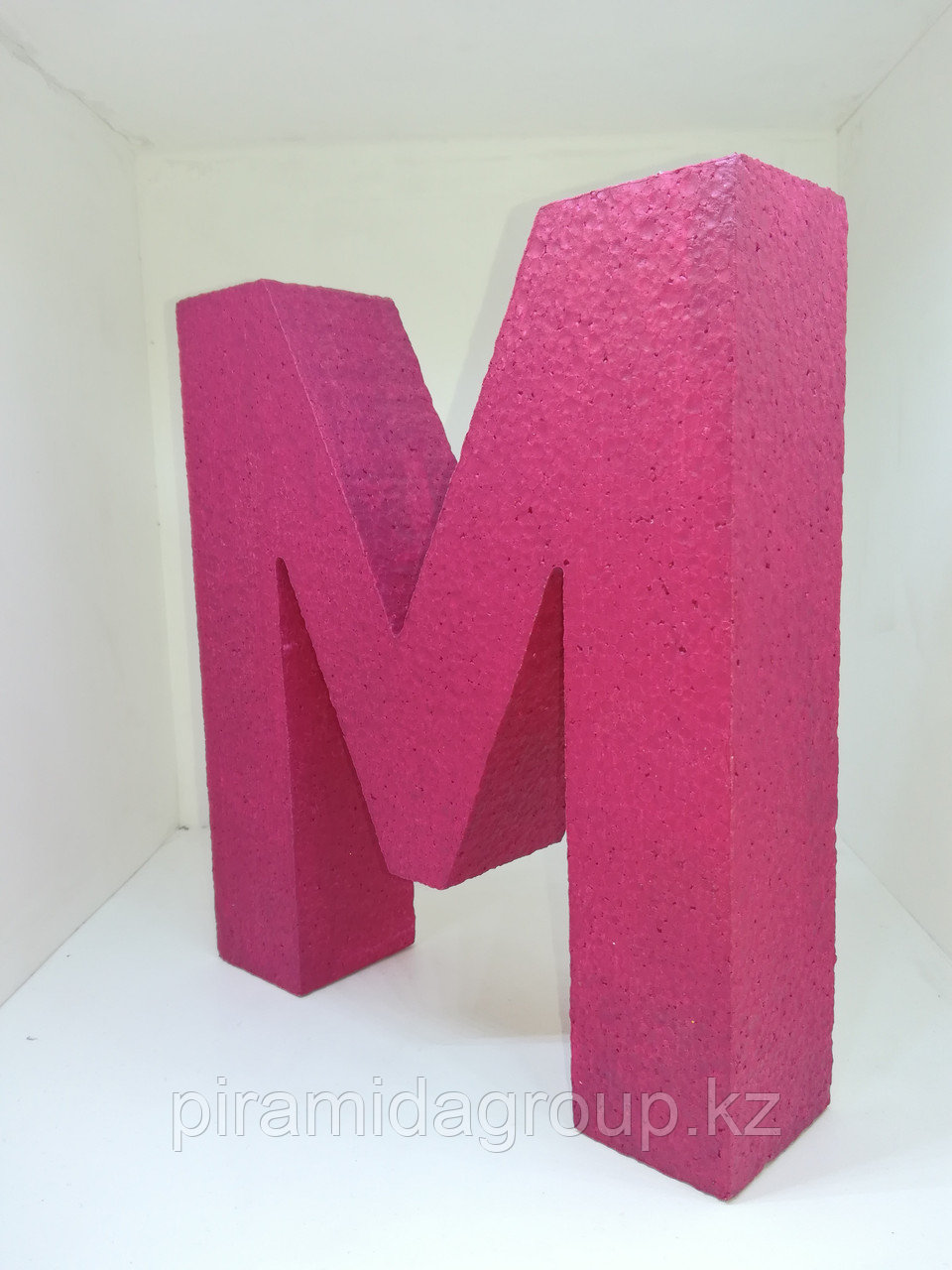 Объемные фигуры и буквы из пенопласта по индивидуальным размерам
