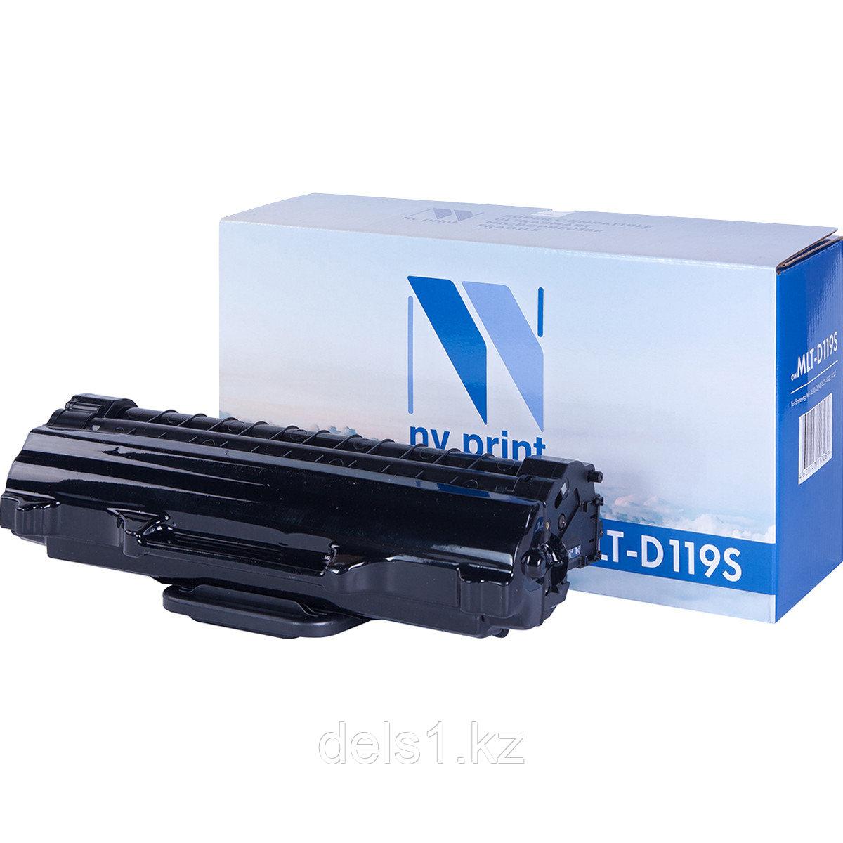 Картридж, NVP NV-MLTD119S совместимый с Samsung ML-1610 | 2010 | SCX-4321 | 4521