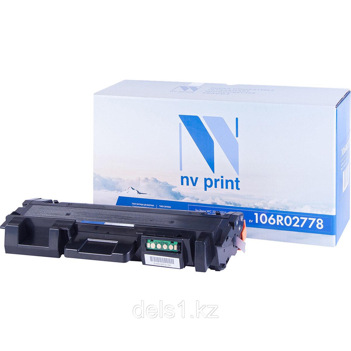 Картридж NVP  NV-106R02778 совместимый с Xerox Phaser 3052   3260   WorkCentre 3215   3225