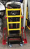 Подъемник лестничный, гусеничный для инвалидов, электрический, складной, мобильный 24v 200w.model DW-11C., фото 3