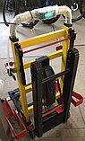 Подъемник лестничный, гусеничный для инвалидов, электрический, складной, мобильный 24v 200w.model DW-11C., фото 2