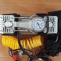 Автомобильный насос 2-х клапанный воздушный Компрессор